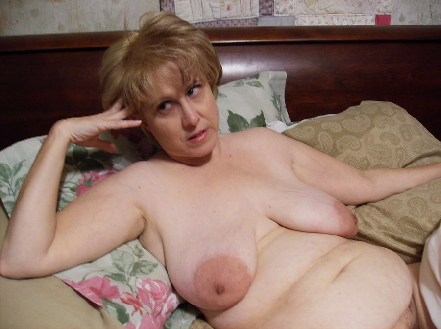 Huge massive areolas saggy can