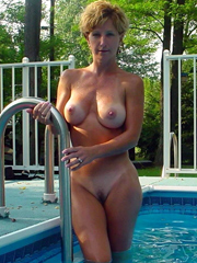 Lonely and naked women