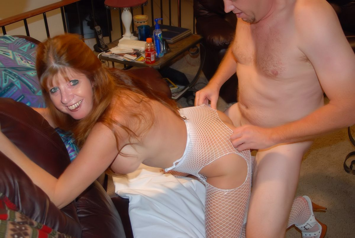cougar s first anal