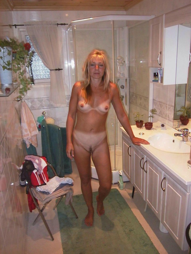 Nude girlfriend and wife